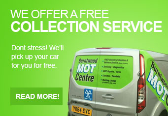 We offer a free collection service